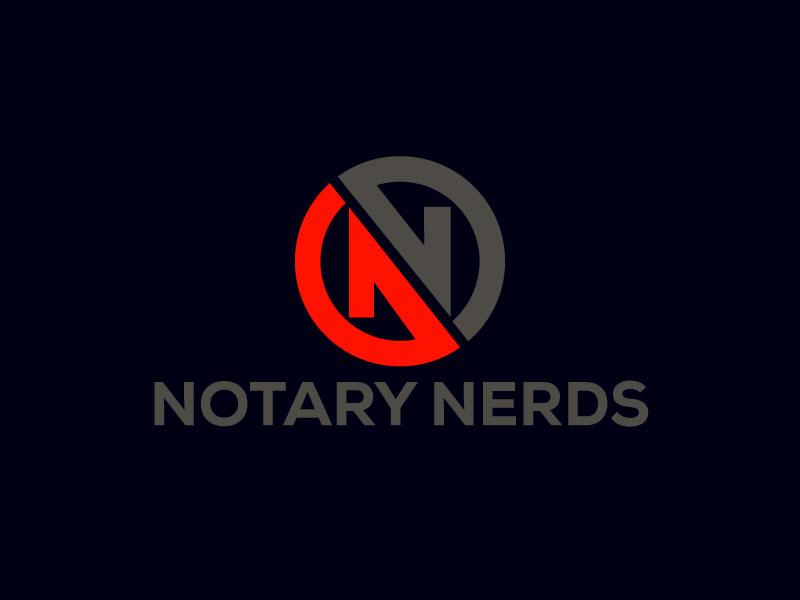 Notary Nerds logo design by LogoQueen