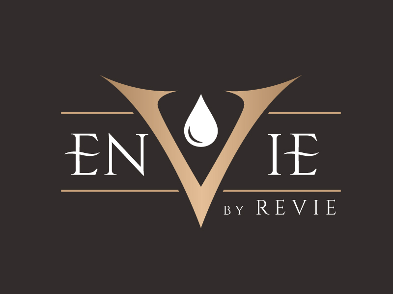 Envie by Revie Argan Oil From Morocco logo design by jaize