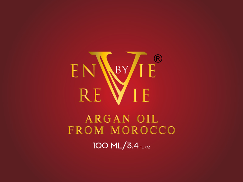 Envie by Revie Argan Oil From Morocco logo design by xien
