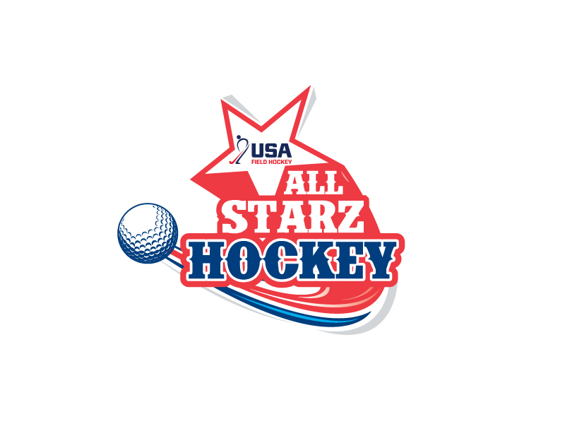 All-Starz Hockey logo design by Webphixo