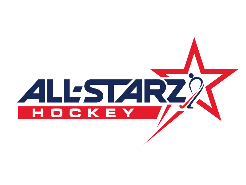 All-Starz Hockey logo design by jaize
