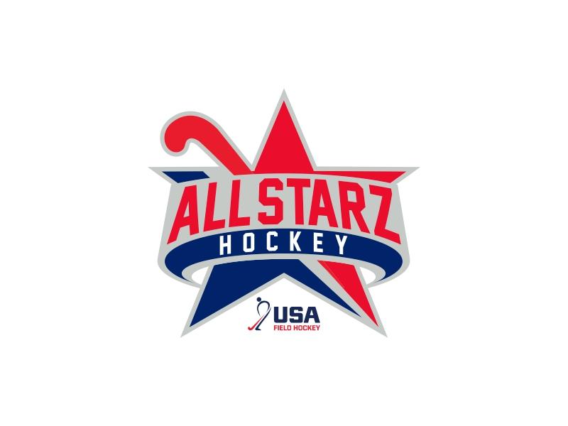 All-Starz Hockey logo design by lj.creative