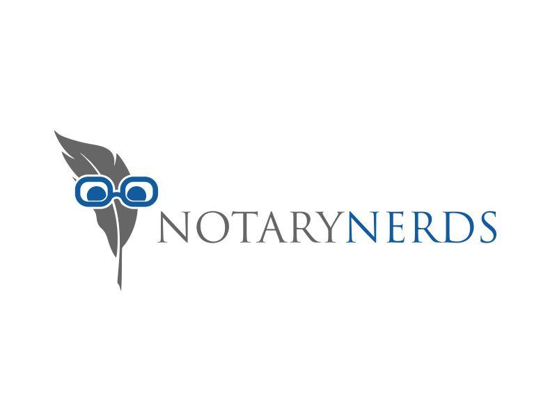Notary Nerds logo design by serprimero