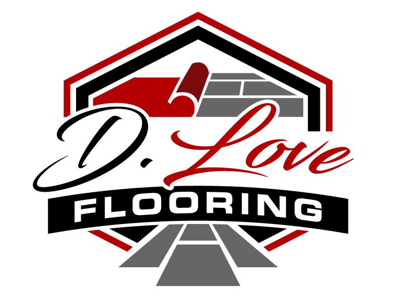 D. Love Flooring logo design by jaize