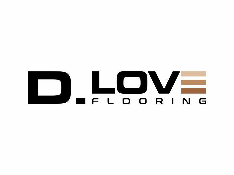 D. Love Flooring logo design by DiDdzin