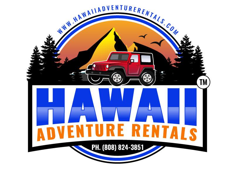 Hawaii Adventure Rentals logo design by aryamaity