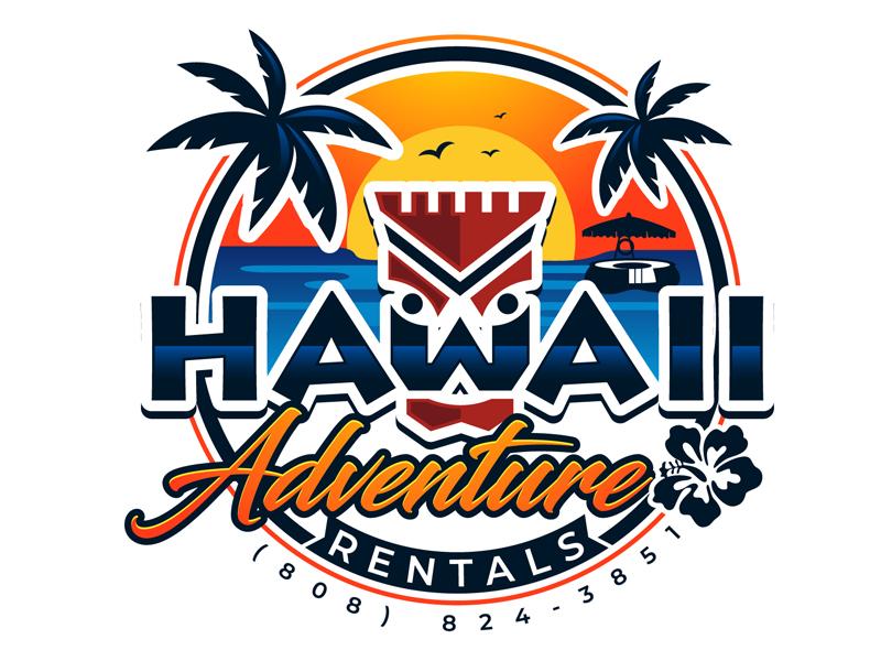 Hawaii Adventure Rentals logo design by DreamLogoDesign