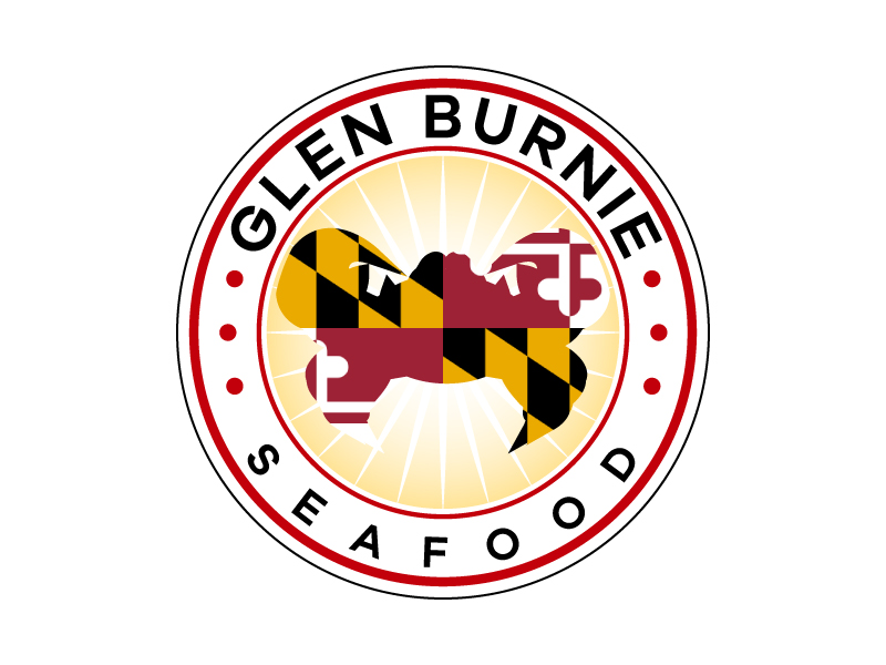 Glen Burnie Seafood logo design by karjen