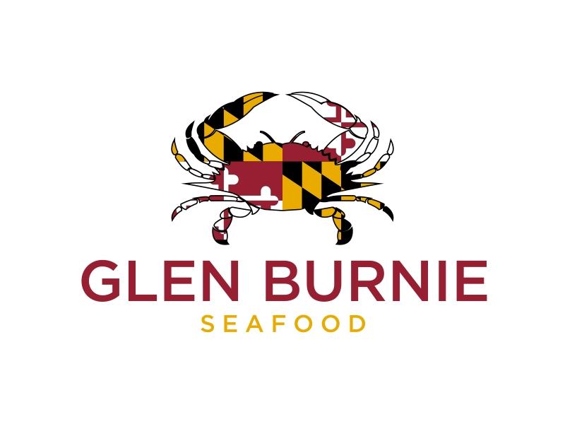 Glen Burnie Seafood logo design by GassPoll