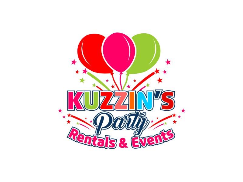 Kuzzin's Party Rentals & Events logo design by ndndn