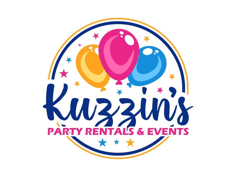 Kuzzin's Party Rentals & Events logo design by cintoko