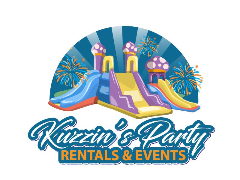 Kuzzin's Party Rentals & Events logo design by drifelm