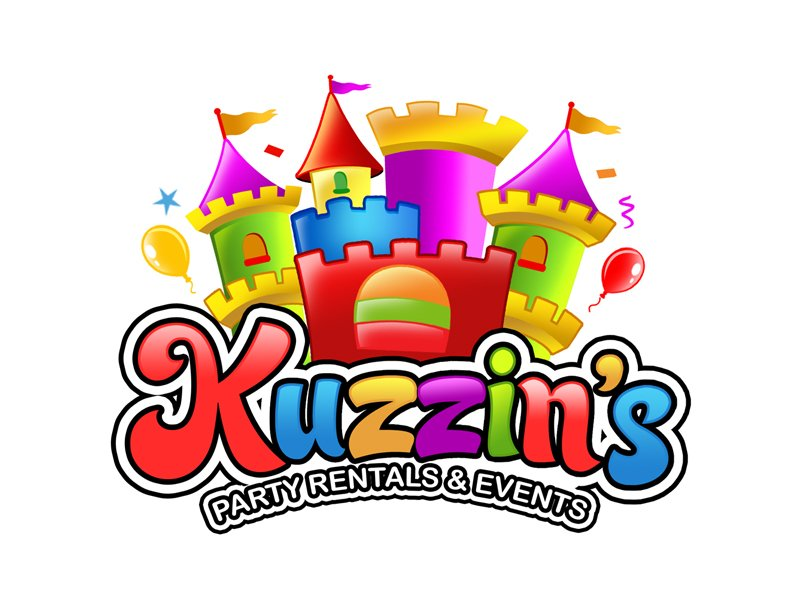 Kuzzin's Party Rentals & Events logo design by ingepro