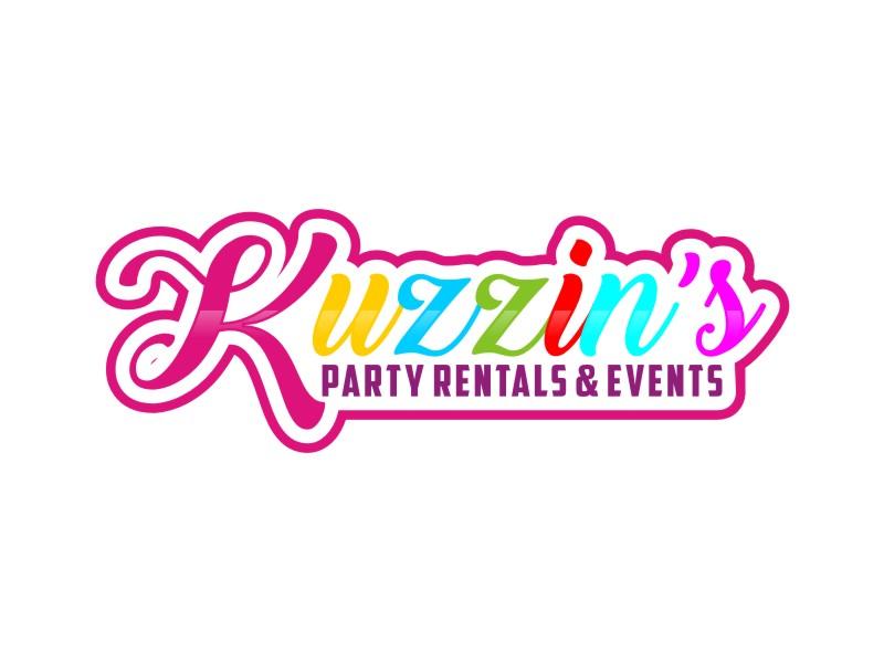 Kuzzin's Party Rentals & Events logo design by Arto moro
