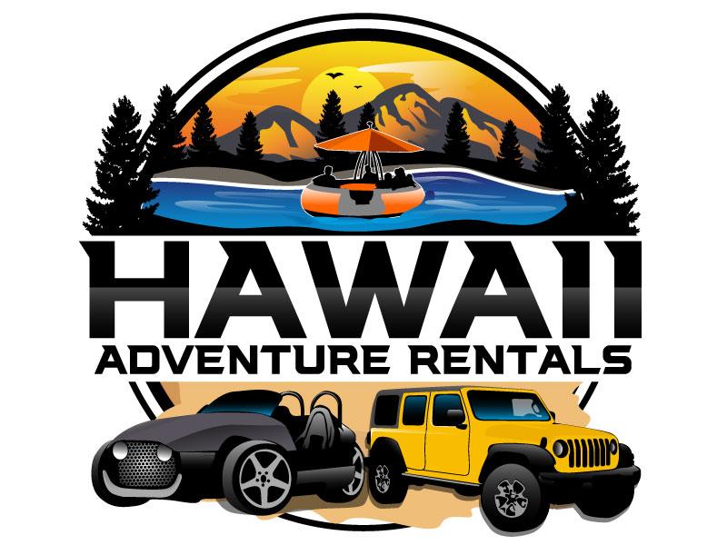 Hawaii Adventure Rentals logo design by Suvendu