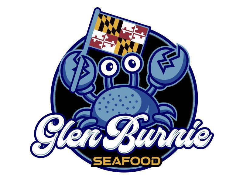 Glen Burnie Seafood logo design by aura