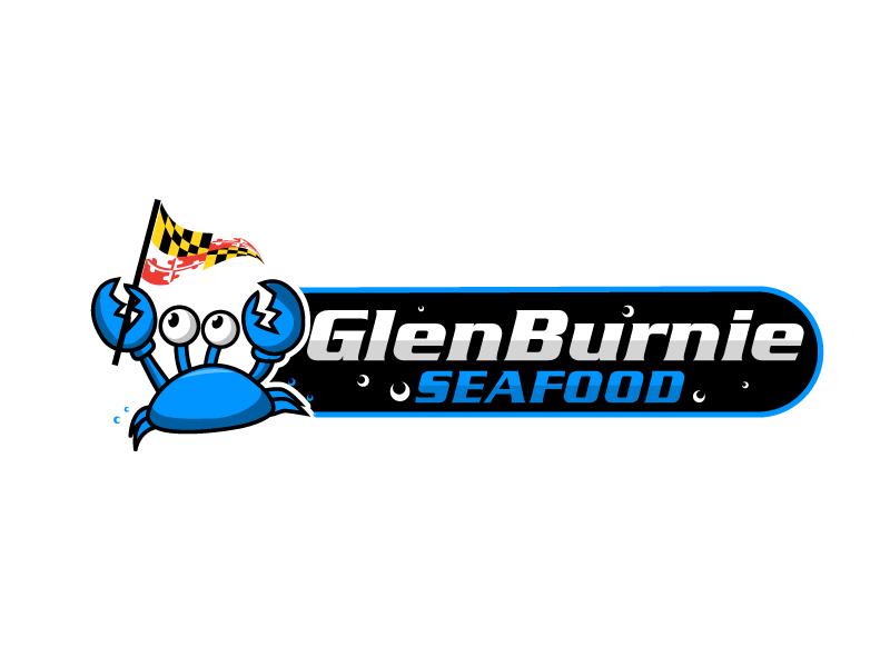 Glen Burnie Seafood logo design by Suvendu
