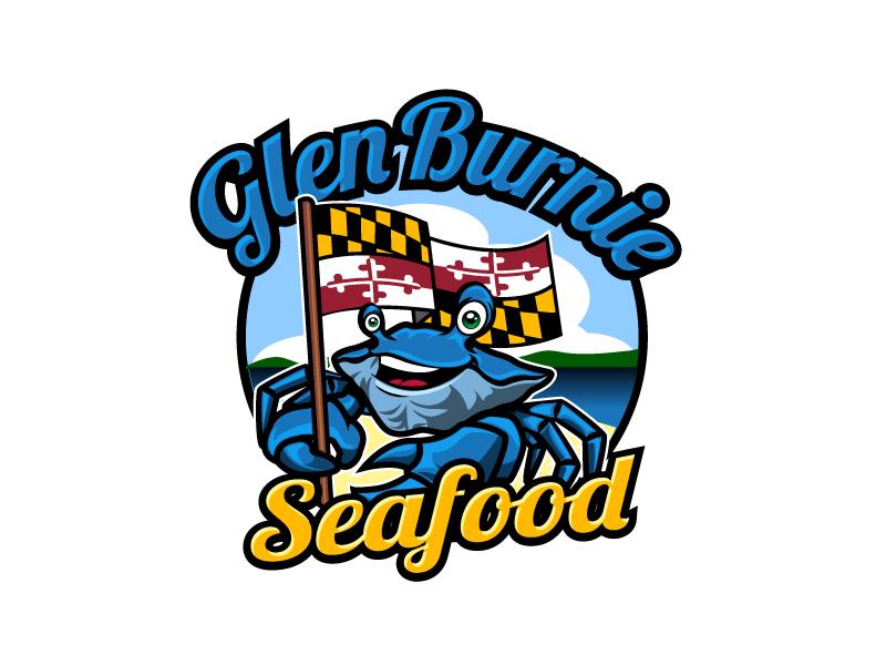 Glen Burnie Seafood logo design by aRBy