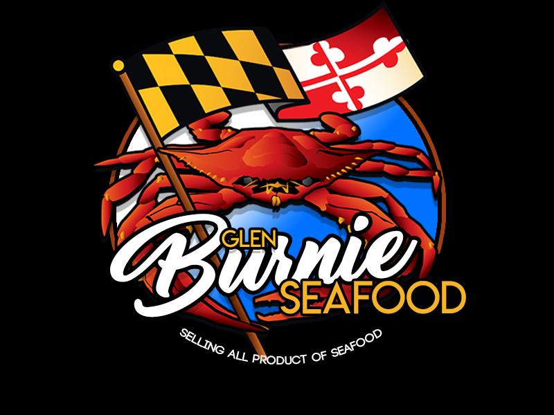 Glen Burnie Seafood logo design by Andreas Sandy
