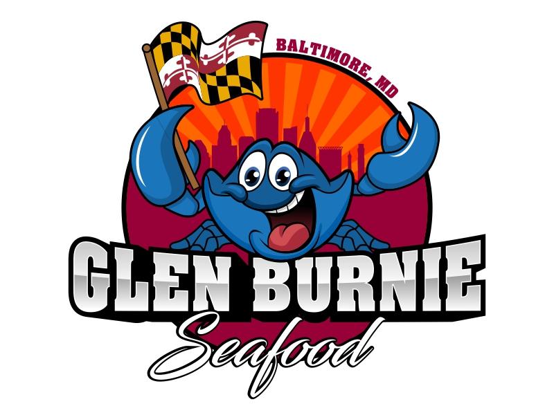 Glen Burnie Seafood logo design by rizuki