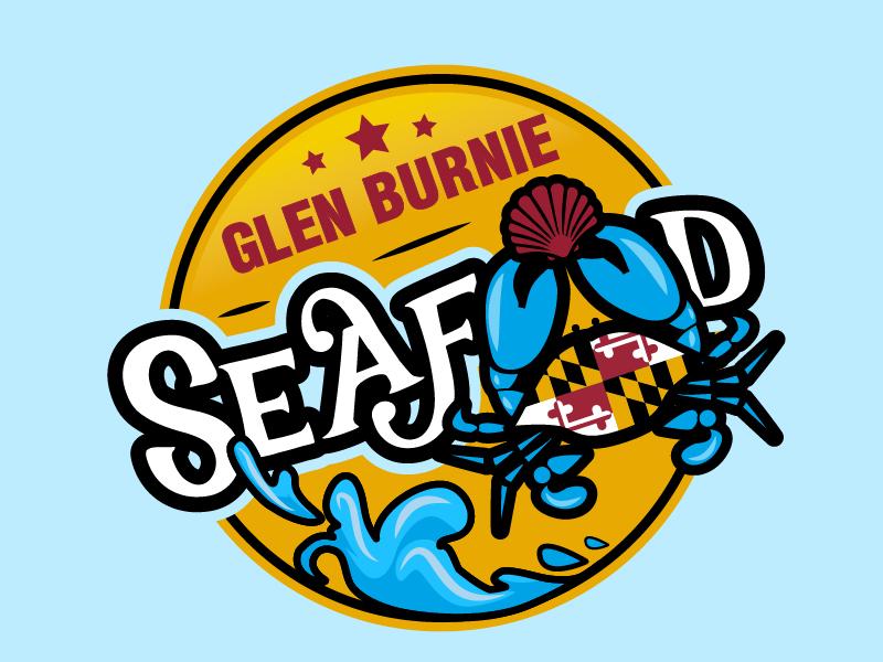 Glen Burnie Seafood logo design by il-in
