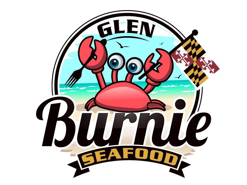 Glen Burnie Seafood logo design by LucidSketch