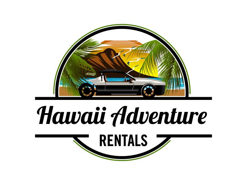 Hawaii Adventure Rentals logo design by torresace