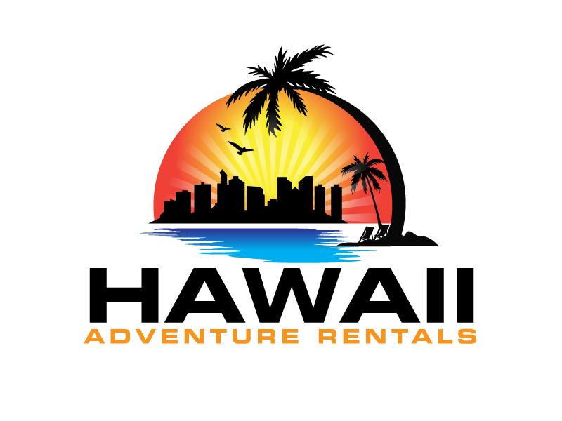 Hawaii Adventure Rentals logo design by ElonStark