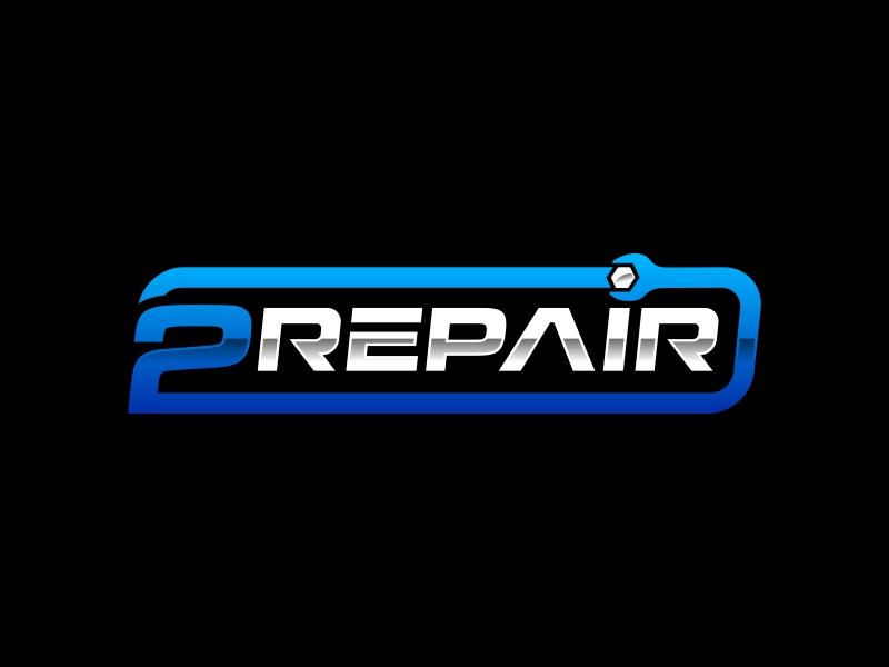 2 Repair logo design by mutafailan