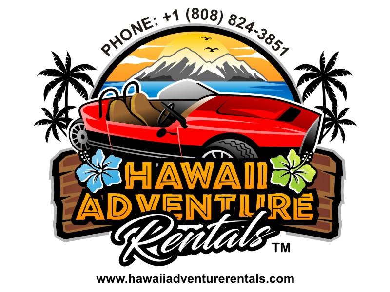 Hawaii Adventure Rentals logo design by haze