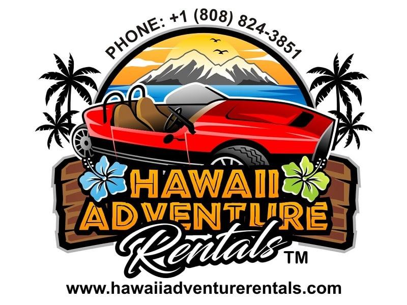 Hawaii Adventure Rentals Logo Design
