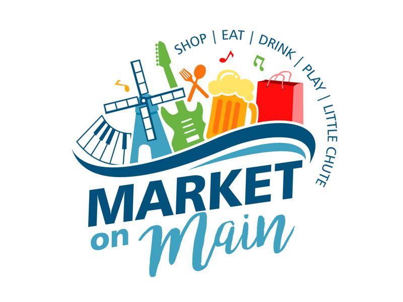 Market on Main logo design by ingepro