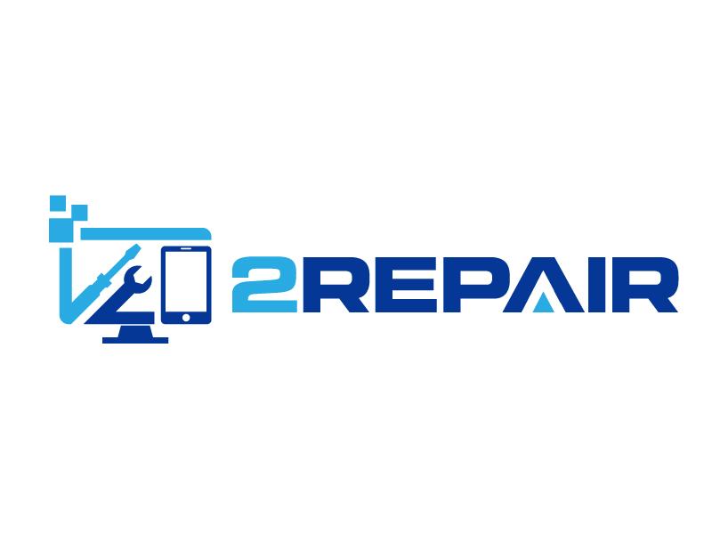 2 Repair logo design by jaize