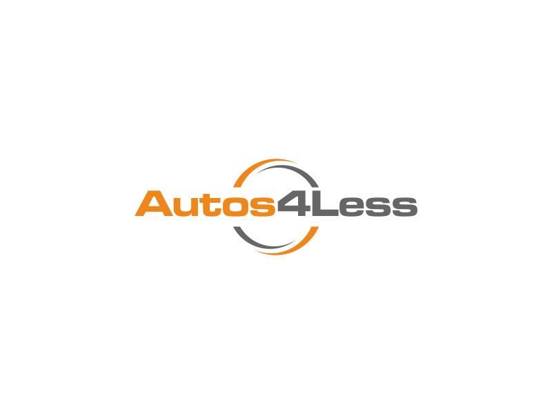 Autos4Less Logo Design