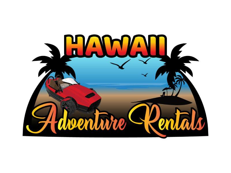 Hawaii Adventure Rentals logo design by nona