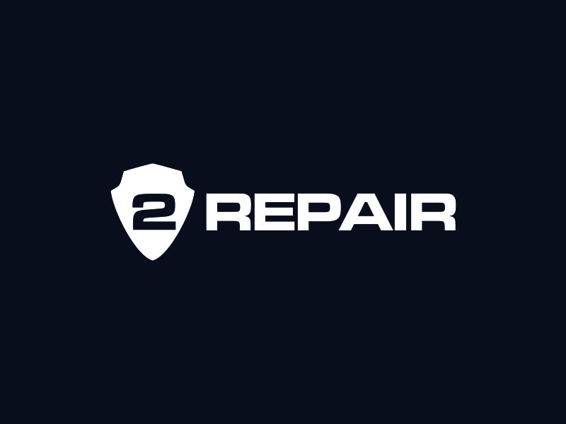 2 Repair logo design by santrie
