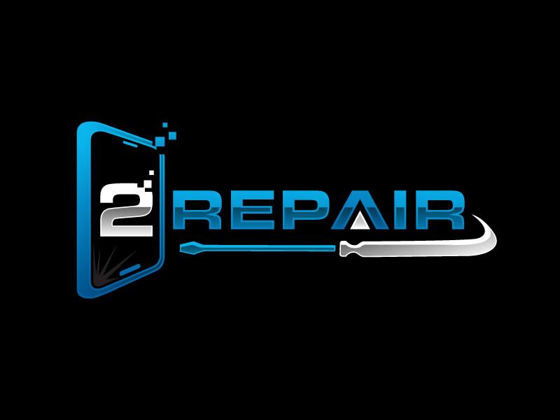 2 Repair logo design by nard_07