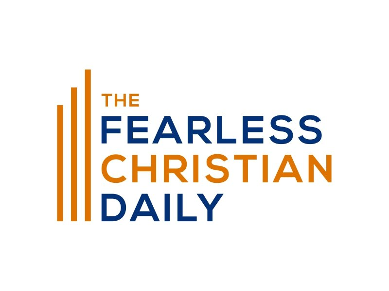 THE FEARLESS CHRISTIAN DAILY Logo Design