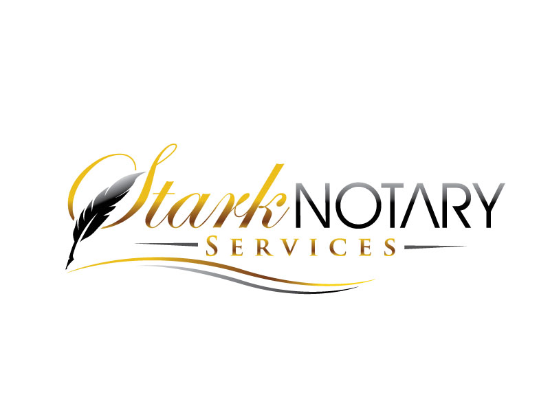 Stark Notary Services logo design by REDCROW