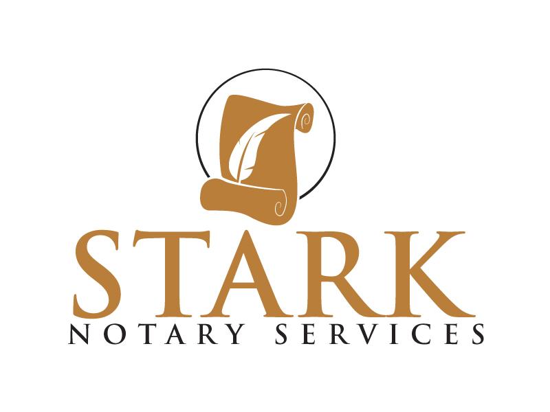 Stark Notary Services logo design by ElonStark