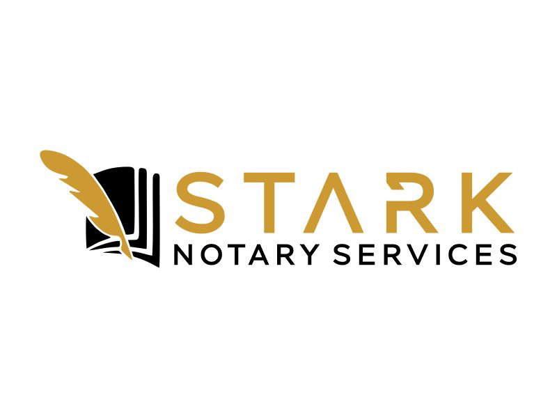 Stark Notary Services logo design by Gwerth