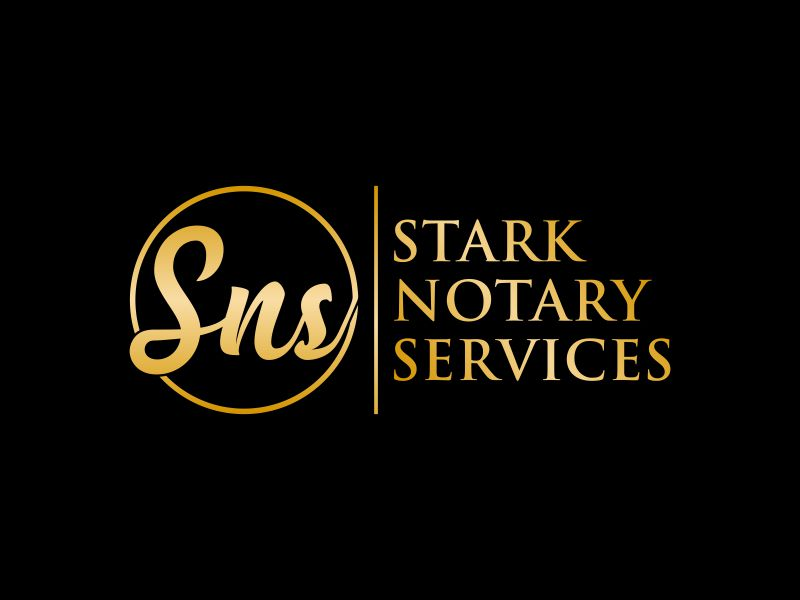 Stark Notary Services logo design by aflah