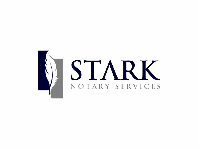 Stark Notary Services logo design by zonpipo1