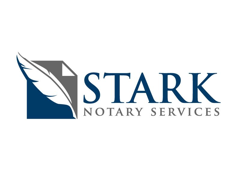 Stark Notary Services logo design by jaize