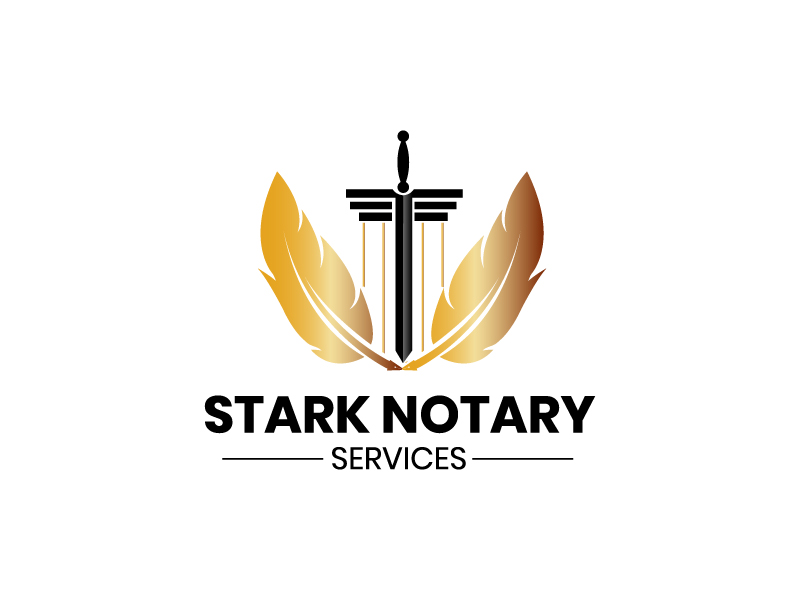 Stark Notary Services logo design by drifelm