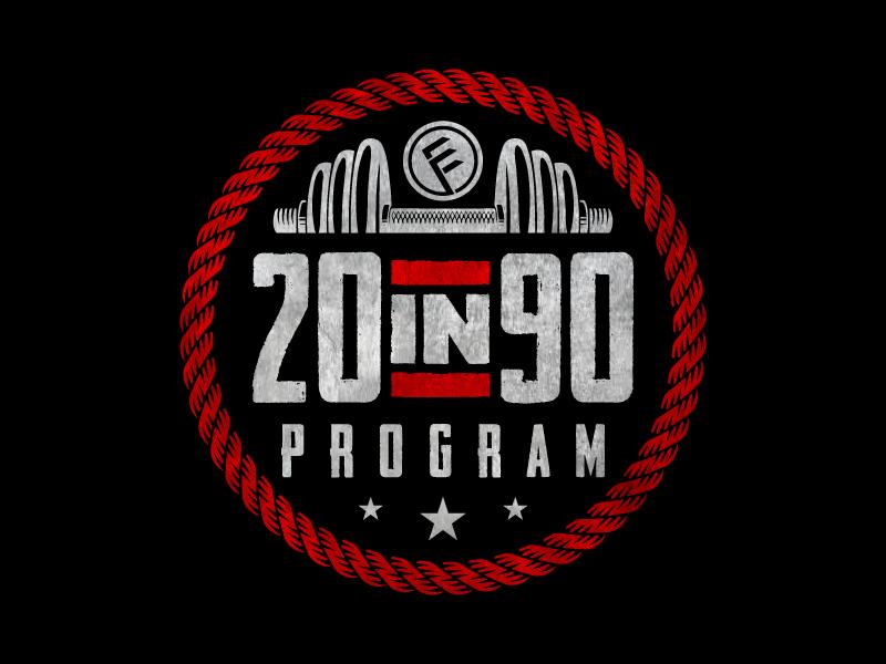 20in90 Program logo design by jaize