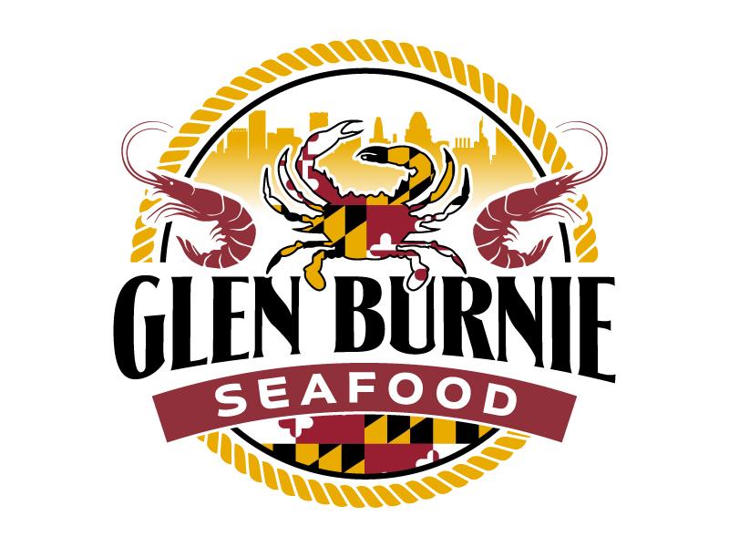 Glen Burnie Seafood logo design by jaize