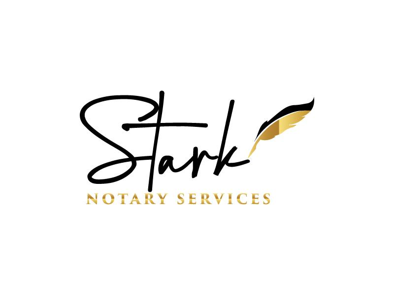 Stark Notary Services logo design by Erasedink