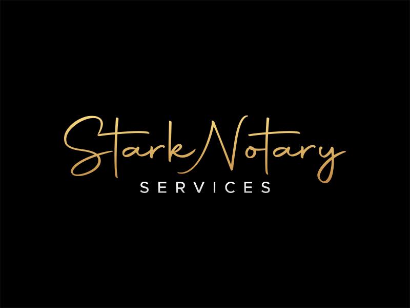 Stark Notary Services logo design by lexipej