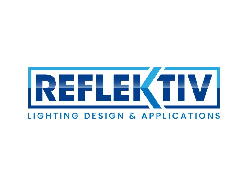 REFLEKTIV Lighting Design & Applications logo design by denfransko